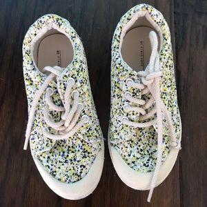 Zara Girls Abstract Print Sneakers